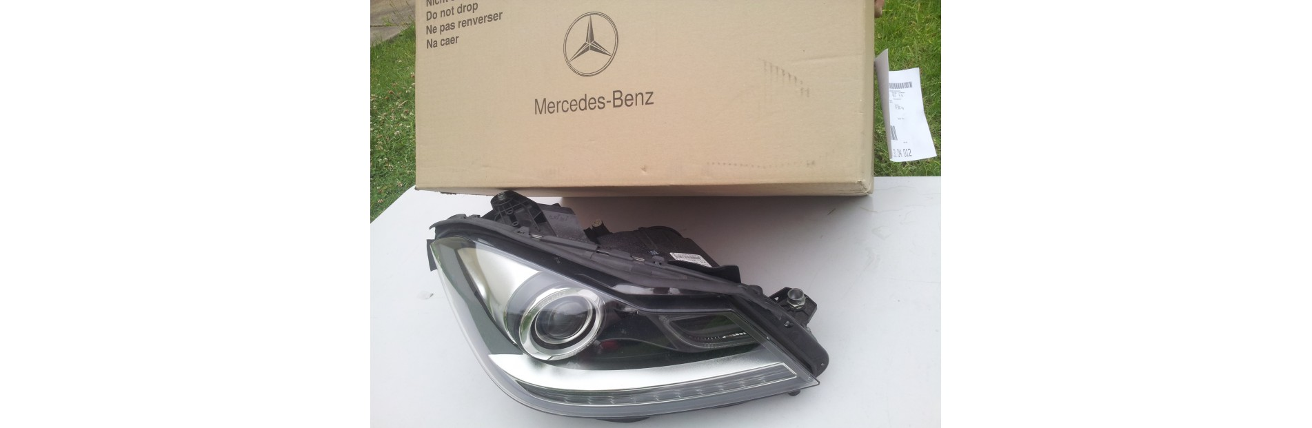 Headlamp unit Mercedes C-Class W204